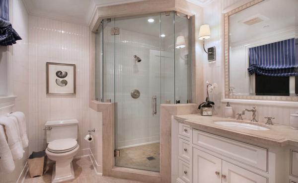 如何让小浴室变大变敞亮 绍兴小浴室装修技巧