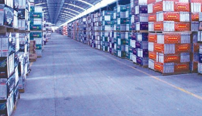 传化公路港仓储配送中心开始装修