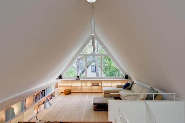 顶层三角阁楼设计原则有哪些 阁楼使用要注意什么