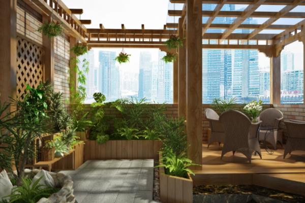 2018最好看的露台花园设计 露台花园设计注意事项