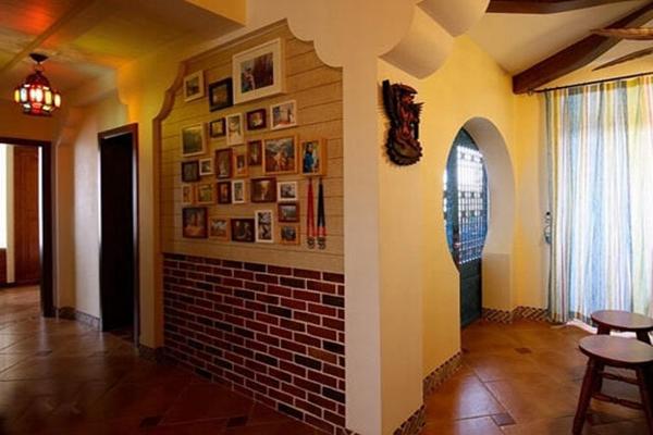 客厅墙面瓷砖怎么铺贴好看 2018客厅墙面瓷砖效果图