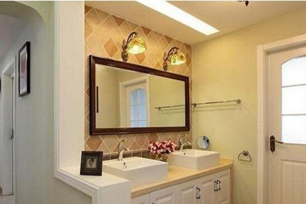 卫生间大理石洗手台怎么装修 卫生间大理石洗手台效果图