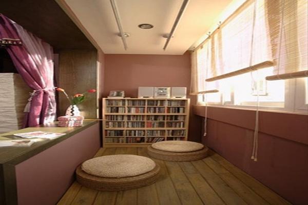 杭州1.5米阳台书房装修设计 杭州1.5米阳台书房装修效果图