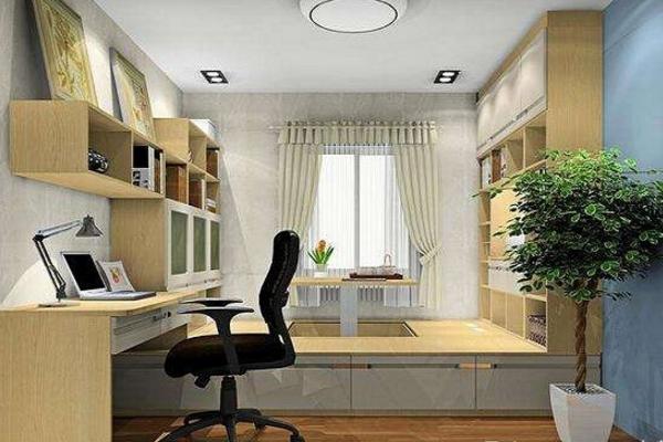 2018创意小书房榻榻米效果图赏析 极具特色的小书房空间