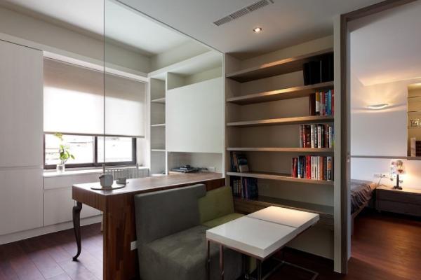北京小户型书房怎么装修设计 2018小户型设计技巧