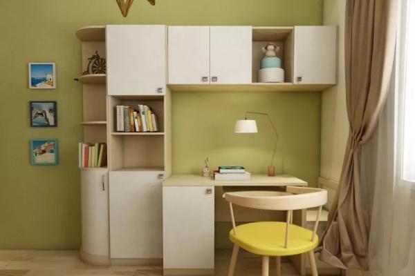 2018儿童书房装修效果图大全 给孩子一个完美的学习空间