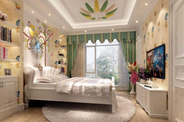 10平米儿童房装修效果图 小孩子看了喜欢得不得了