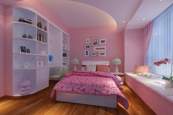 2019粉色儿童房装修效果图 温馨浪漫粉色儿童房装修