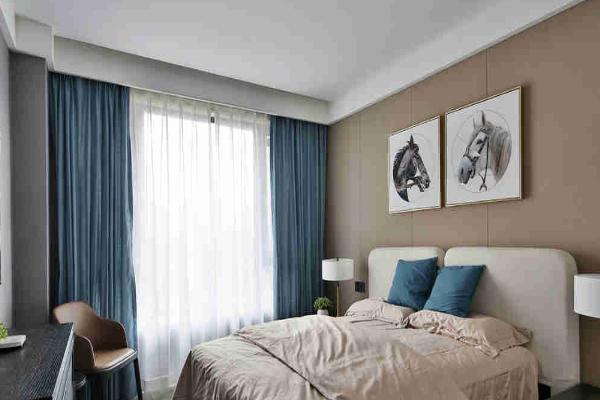 2019最新客厅卧室窗帘效果图 客厅卧室窗帘巧搭配