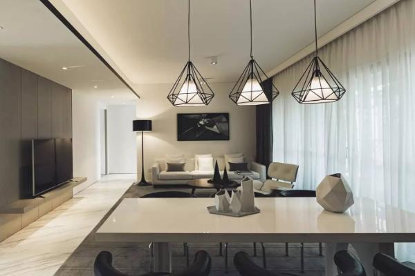 不做吊顶的客厅装修效果图 2019最新四款客厅不吊顶案例