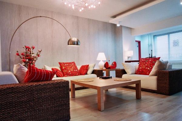 2019婚房客厅布置效果图 年度最浪漫婚房客厅布置图片