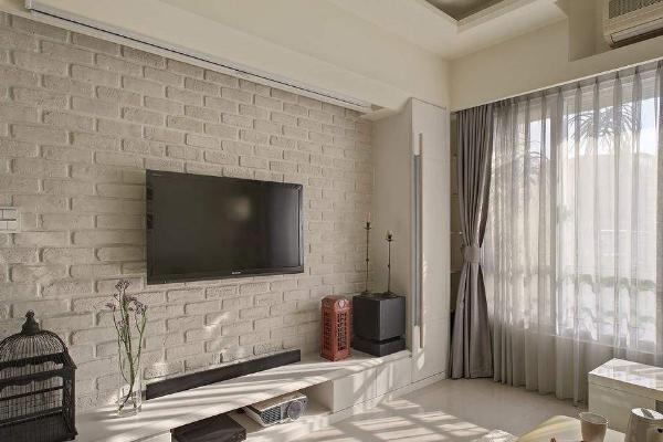 2019室内电视墙装修效果图大全 高逼格电视墙装修案例