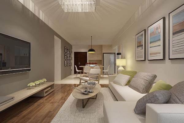 2019北欧风格客厅效果图 感受素雅简约北欧风格客厅