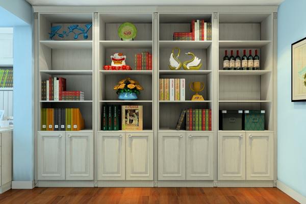 2019木工简易书架图片大全 创意木工简易书架设计案例
