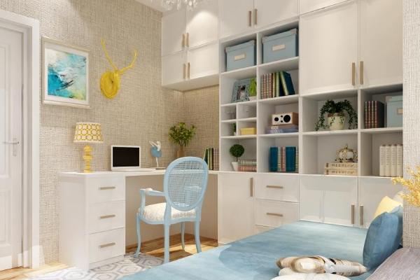 2019最新组合书柜效果图 年度最实用组合书柜设计案例