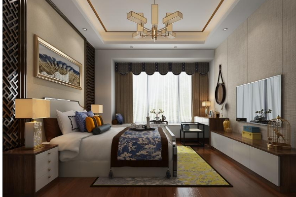 2019简约风格客厅窗帘效果图 最潮的简约风格客厅窗帘搭配