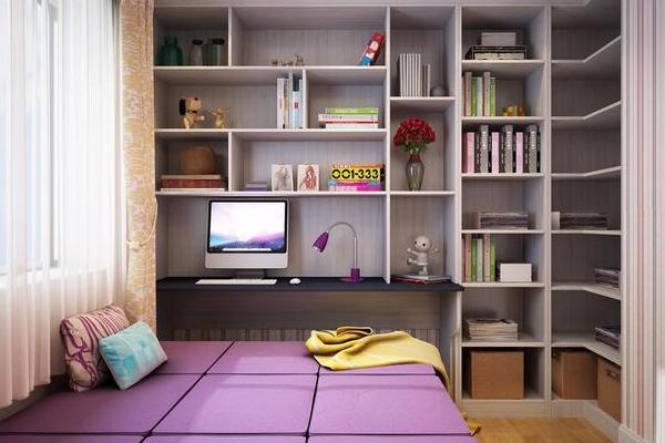 2019小房间榻榻米床效果图 4款小房间榻榻米床设计实例