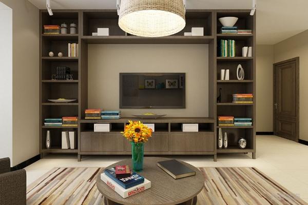 2019客厅柜子装修效果图 4款实用客厅柜子装修案例