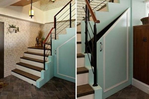 2019楼梯底下柜子效果图 4款实用楼梯底下柜子装修案例