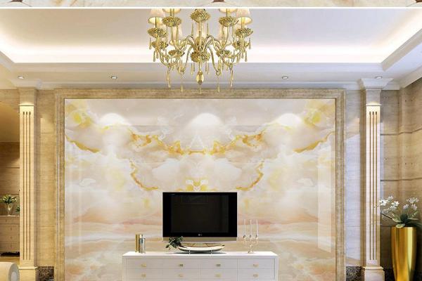 2019欧式石材电视墙效果图 4款欧式石材电视墙装修案例
