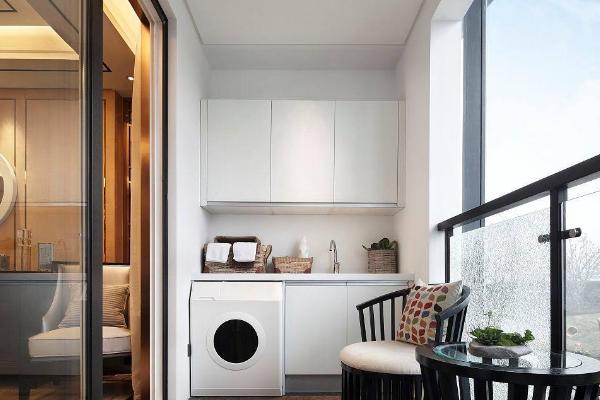 2019最新阳台洗衣池效果图 4款实用阳台洗衣池装修案例