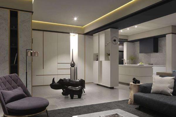 160平米三室两厅装修样板间 三室两厅样板间装修案例