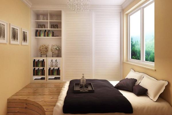 2019榻榻米床头设计效果图 榻榻米床头实用设计案例