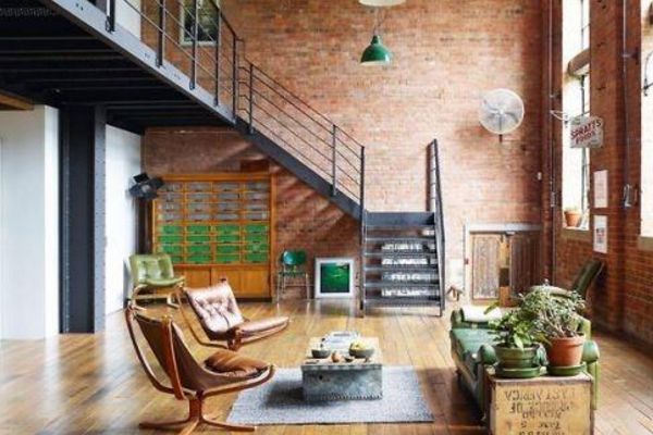 杭州农村别墅楼梯设计效果图 农村别墅楼梯设计案例