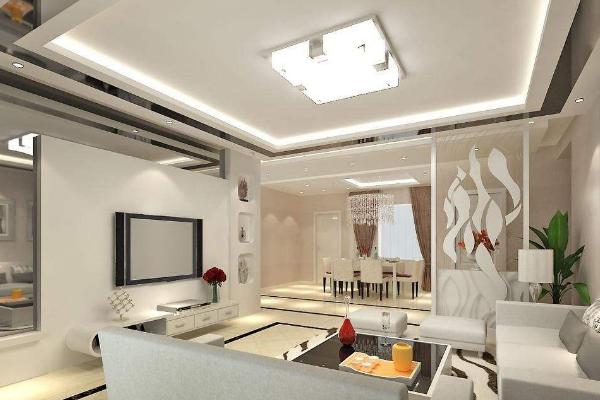 2019客厅水晶吊灯效果图 4款客厅水晶吊灯搭配实景图