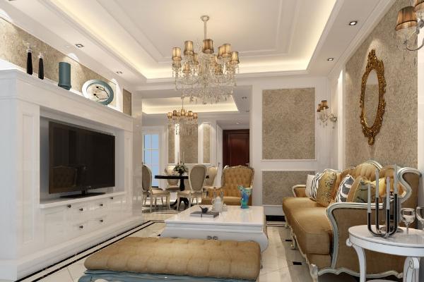 2019客厅地板砖装修效果图 客厅地板砖装修案例