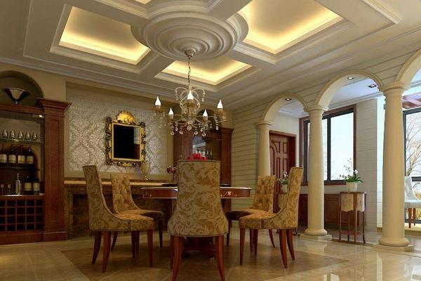 佛山复式别墅装修效果图 4款超大气复式别墅装修案例