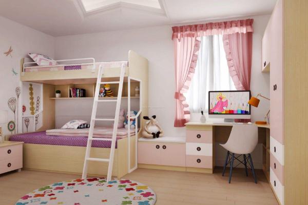 上海儿童房间设计实景图 4款小户型儿童房间装修案例