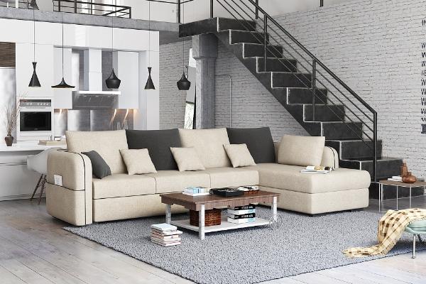 2019北欧风格布艺沙发搭配效果图 打造精致舒适家居