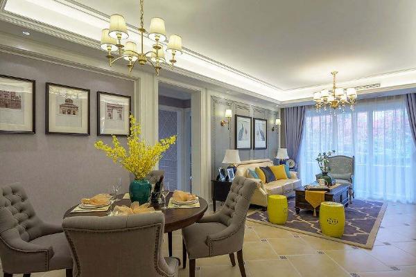重庆100平米三居装修效果图 打造特色时尚三居室空间