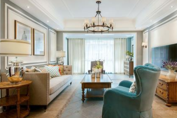 150平米大三居装修效果图 大户型三居室装修实景图