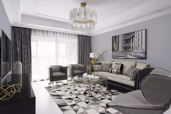 2019淡灰色墙面装修效果图 气质淡灰色墙面装修实例