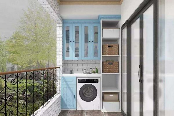 2019陽臺櫥柜設計效果圖 4款實用陽臺櫥柜設計案例