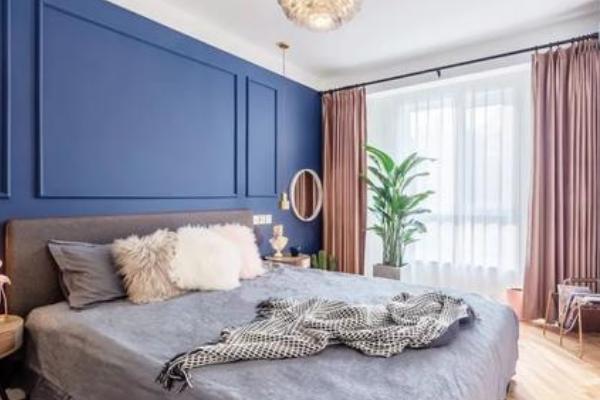 2019淡蓝色墙面配什么颜色窗帘 淡蓝色墙面窗帘搭配技巧