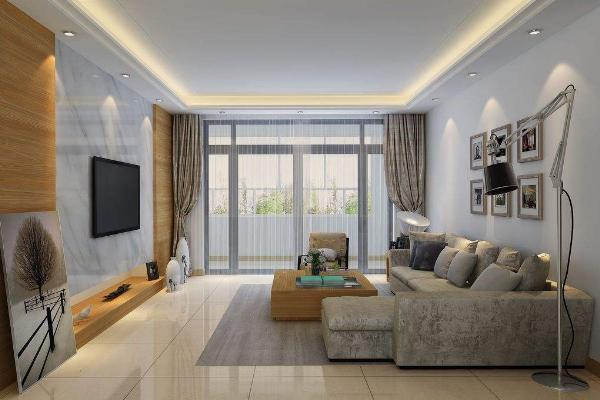 三室二厅现代简约装修效果图 超温馨三室二厅装修实例