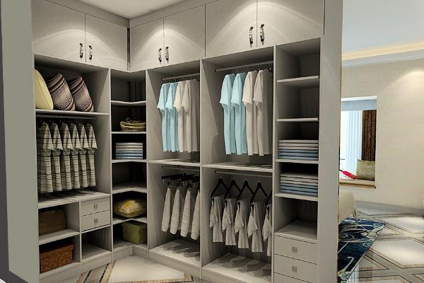2019家装大衣柜效果图 4款实用家装大衣柜设计案例