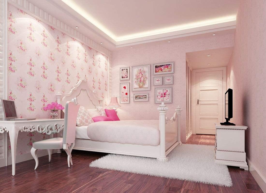 卧室壁纸装修怎么选?2019卧室壁纸装修效果图欣赏