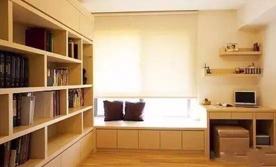 书柜设计注意事项有哪些?2019书柜装修设计效果图
