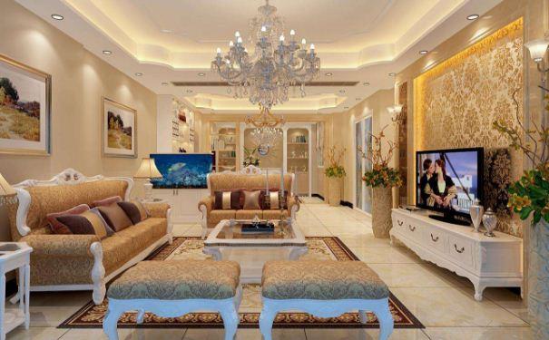 欧式小客厅颜色如何搭配 欧式小客厅颜色搭配方案