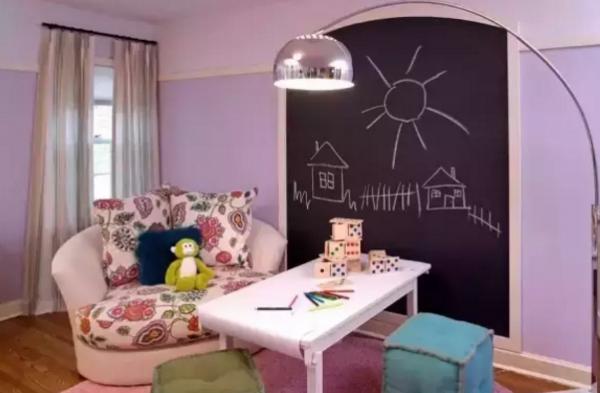 2018最新儿童书房装修效果图大全 这样的书房更有创意