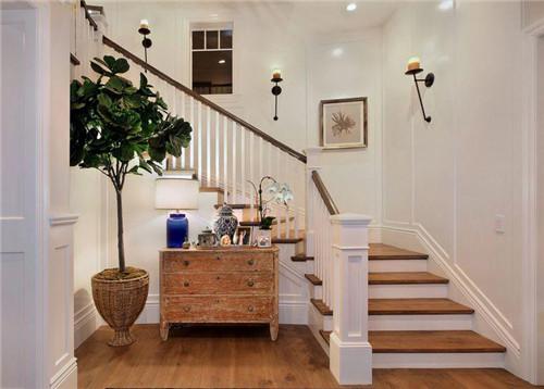 楼梯墙壁装修图片大全 特色楼梯墙壁就该这么装