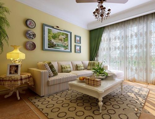60平米客厅装修效果图 60平米客厅装修设计案例