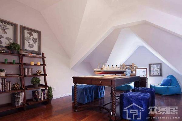 低矮斜顶无窗阁楼装修技巧 低矮斜顶无窗阁楼装修效果图