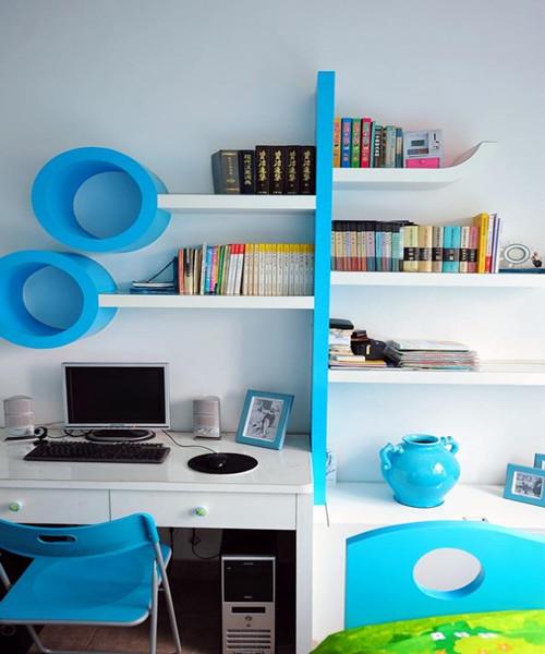 金华5平小书房装修效果图 5平米小书房装出大空间