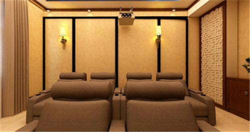 上海别墅家庭影院装修效果图 上海别墅家庭影院装修设计