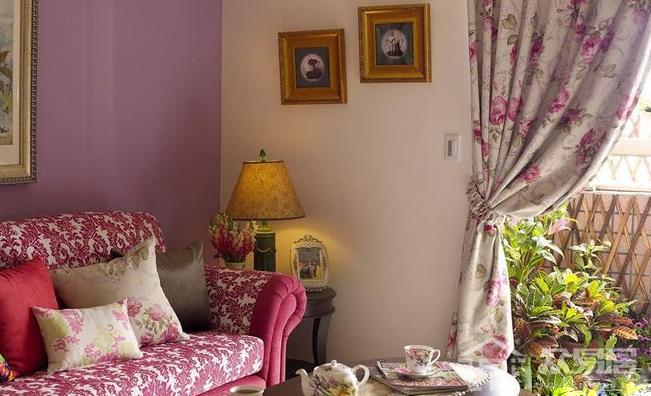 2019田园三居室装修效果图 打造大自然风格的三居室